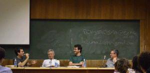 Antonio, Humberto, eu e Augusto