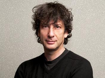 Neil Gaiman, foto da editora Intrínseca